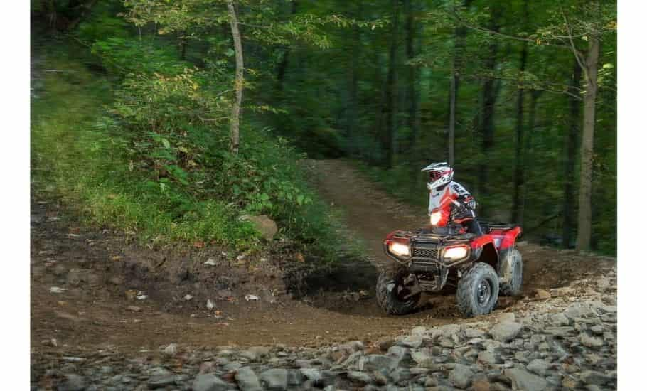 How does an ATV semi automatic clutch work
