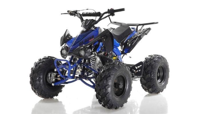 125cc ATV top speed