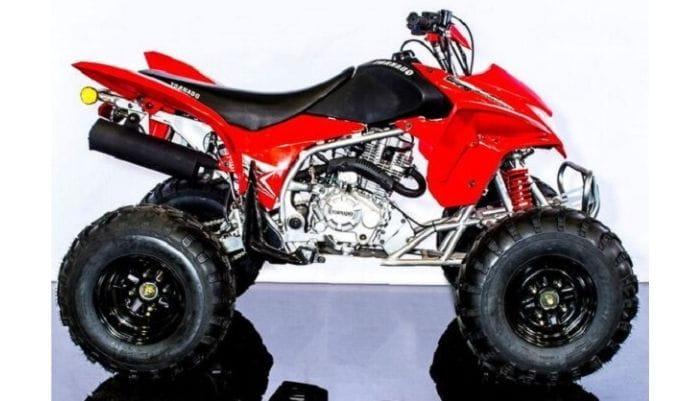 250cc atv top speed